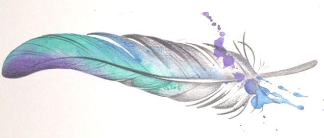 pluma mensajera